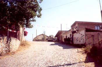 CAlle de Entrada a Tamazulita